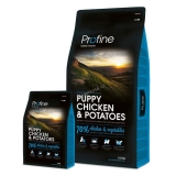 Profine Dog Puppy Chicken & Potatoes 15 kg + 3 kg ZDARMA