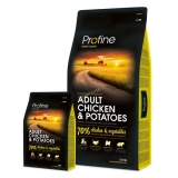 Profine dog Adult Chicken & Potatoes 15 kg + 3 kg ZDARMA