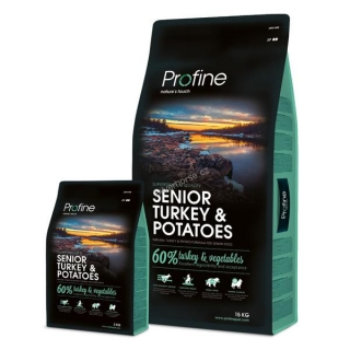 Profine Senior Turkey & Potato 15 kg